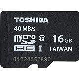 Toshiba 16GB Micro SDHC Class 10 40MB/s (PFM016U-2DCK)