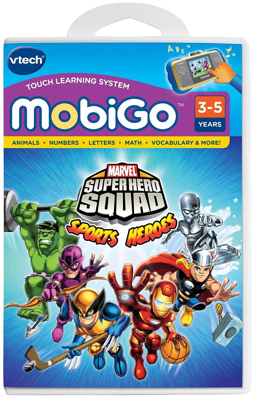 amazon com vtech mobigo software super hero squad toys u0026 games