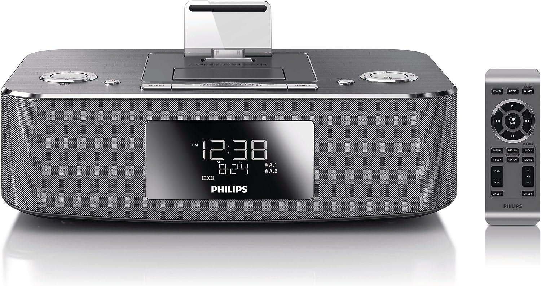 Philips 30-Pin Apple iPod Dock Alarm Clock Radio AJ3270D/37 ...