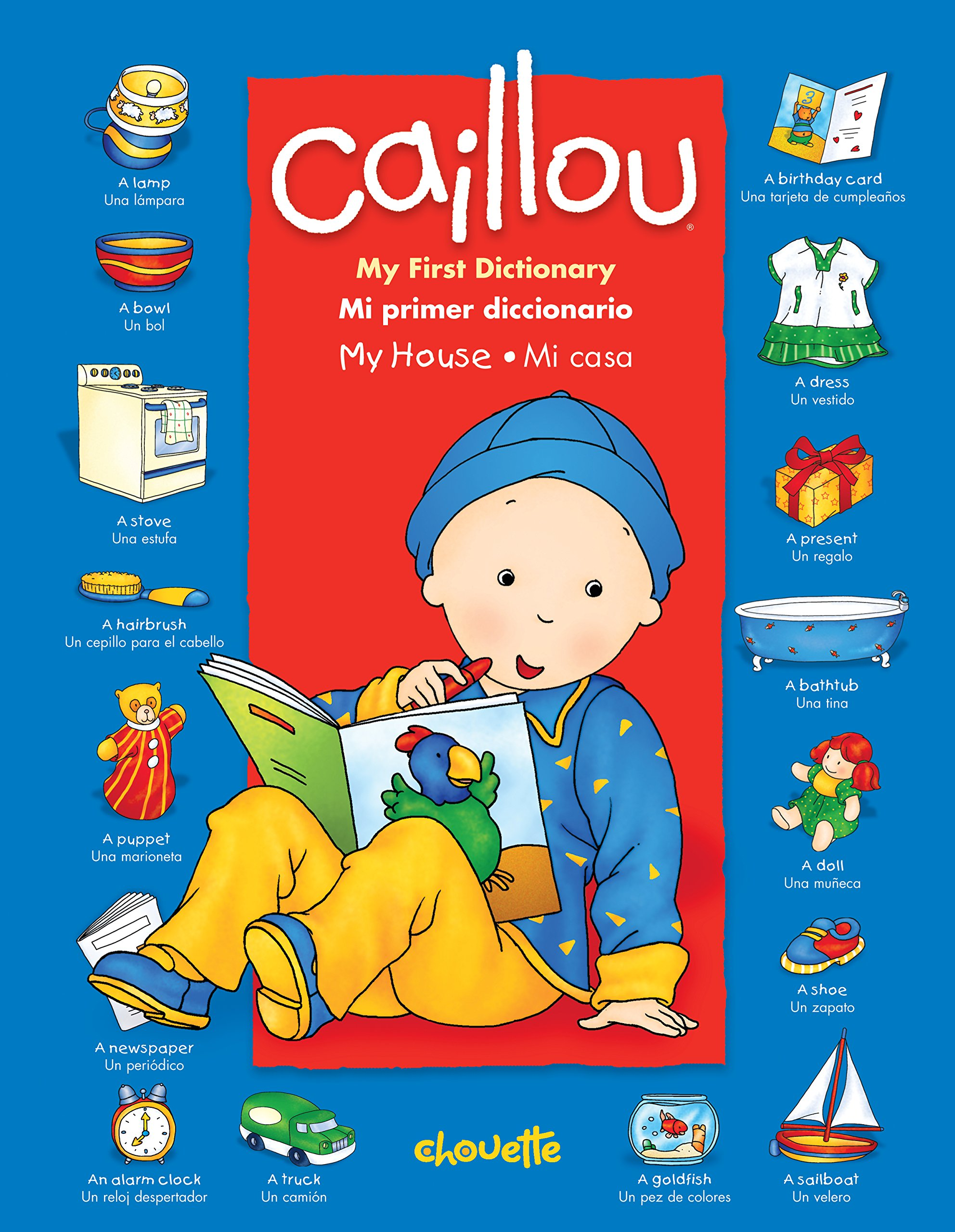 Amazon.com: Caillou: My First Dictionary / Mi primer ...