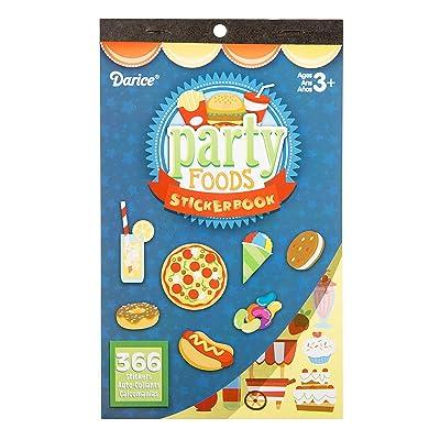 Darice Kids: Party Foods, 366 Sticker Book: Home & Kitchen