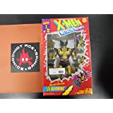 X Men Wolverine Metallic Action Figure - 1994 Metallic Mutants Series - 10 inch Tall - Fully Posebale - Weapon Included - Toy Biz - Marvel - Limited Edition - Mint - Collectible