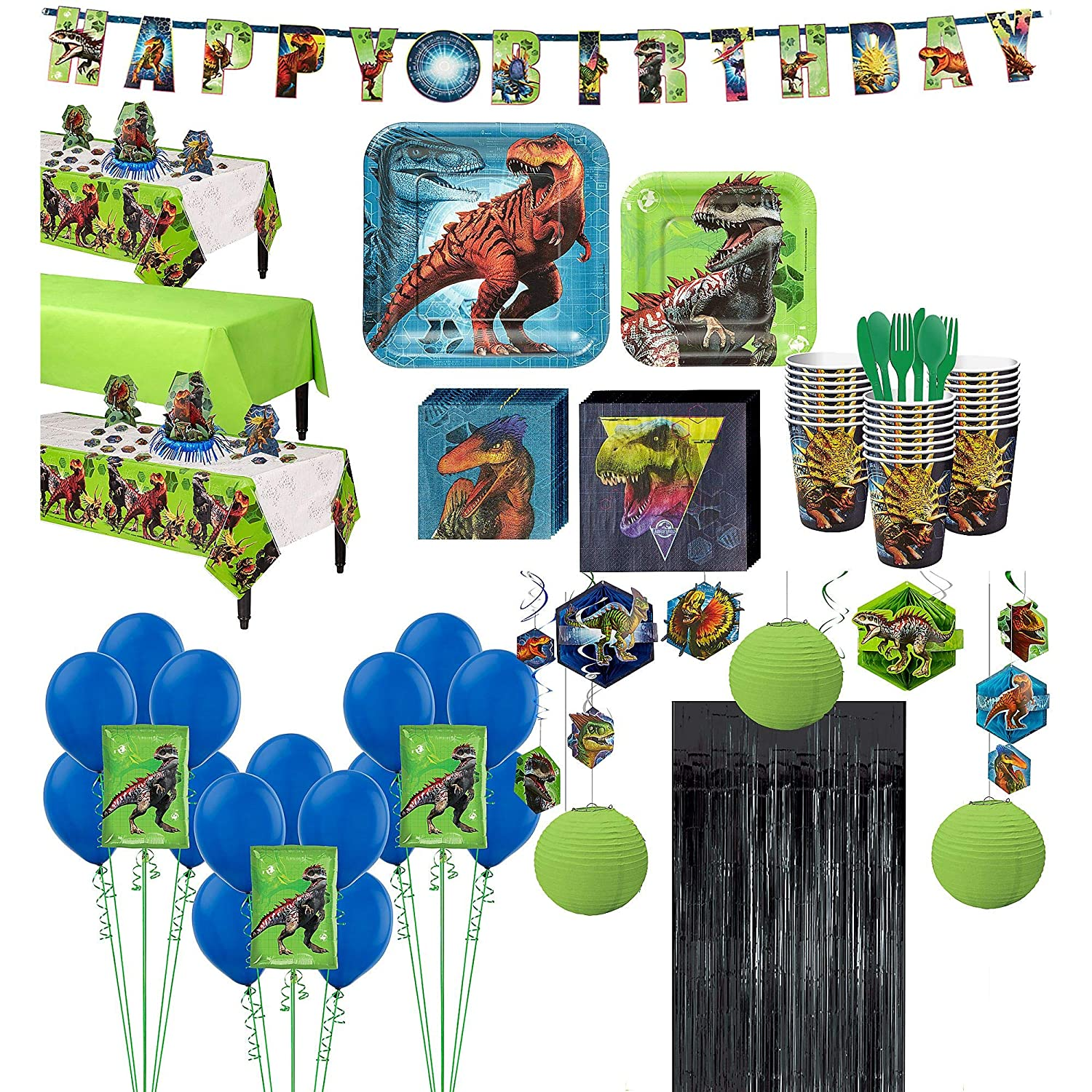 Jurassic World Party Bundles for 24 Guests