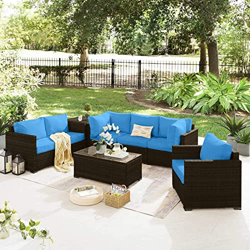 Tribesigns 8 Pieces Outdoor Patio Furniture Set