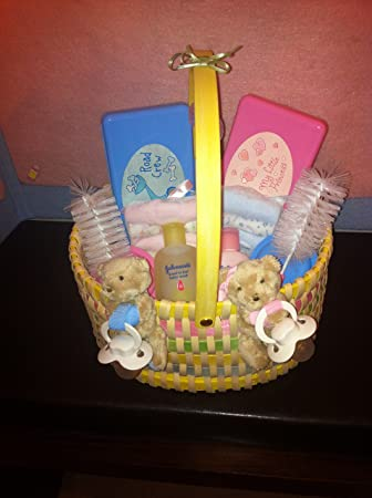 Amazon Twins Gift Basket Baby Shower Or Mommy To Be Gift Baby