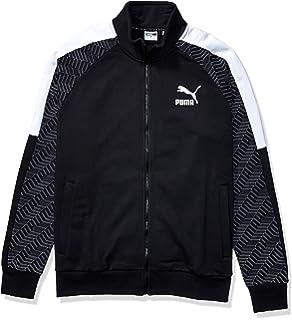 PUMA Mens Contrast Jacket at Amazon Mens Clothing store