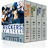 Rockers of Steel: Box set: Memphis Black, Finn Beckett, River James, and Billy Jeffers.