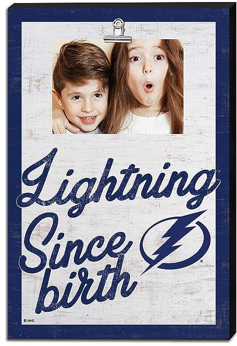 KH Sports Fan Clip It Colored Logo Photo Frame Tampa Bay Lightning