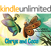 Chrys and Coco: Butterfly and Moth Friends Forever - Children's Picture Book (English Edition)