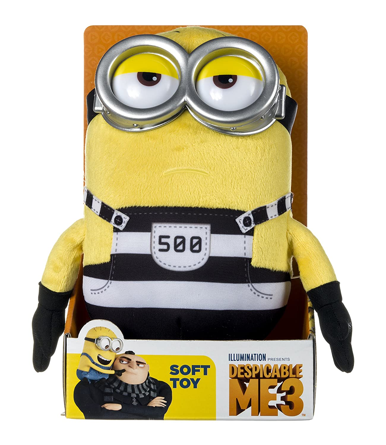 Amazon.com: POSH Paws Despicable Me 3 Minion Tom de peluche ...