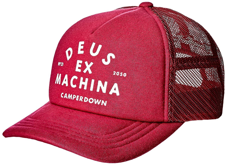 Deus Trucker Cap Austin CAMPERDOWN Trucker DMW97106A-RED - Gorra ...