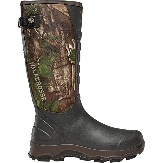 """4xAlpha Snake Boot 16"""" height Realtree Xtra Green (376121)  Waterproof  Insulated Modern Comfortable Hunting Combat Boot Best For Mud Snow"""
