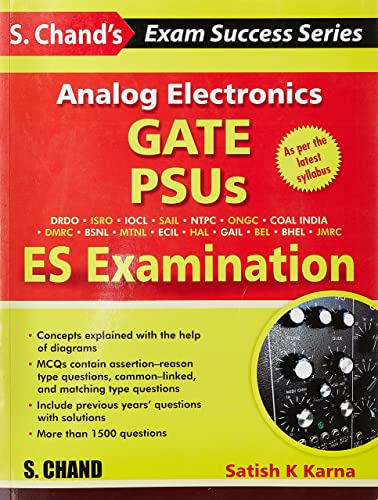 Analog Electronics - GATE; PSUS and ES Examination