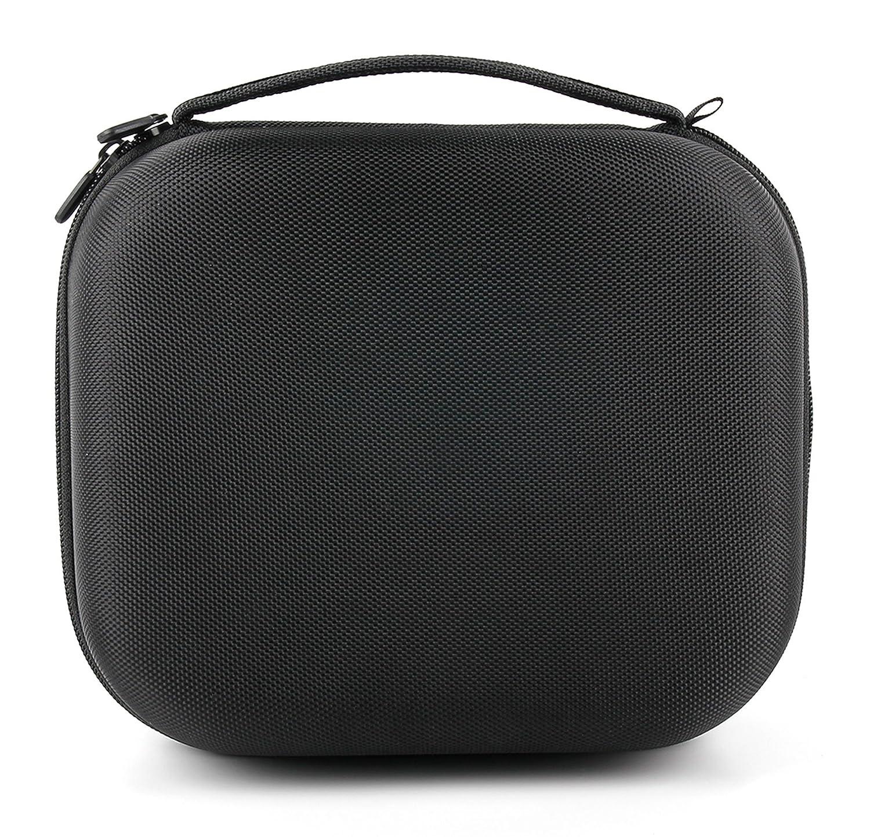 DURAGADGET Estuche Rígido Negro Para Auriculares Krom Kyus/Logitech H800/Sennheiser PXC 550/Sony MDR-RF811RK: Amazon.es: Electrónica
