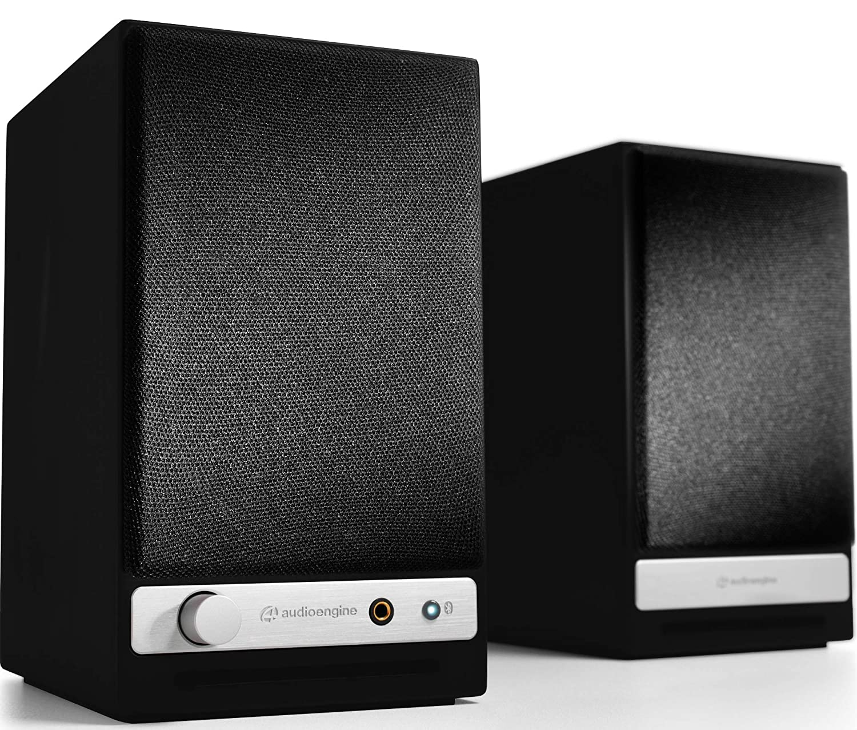 Audioengine HD3 60W Wireless Powered Desktop Speakers, Bluetooth aptX HD, USB 24-Bit DAC & Analog Amplifier (Black)