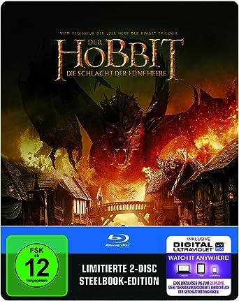 Der Hobbit Die Schlacht Der Fünf Heere Steelbook Exklusiv Bei