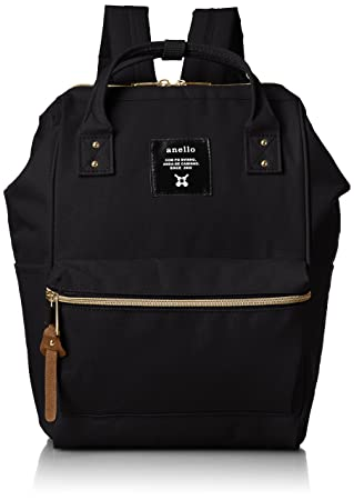 anello  AT-B0197B small backpack with side pockets black 2ddb6b82f4d59
