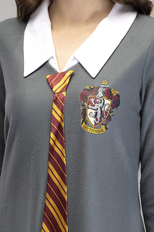 Harry Potter Pajama Juniors Hermione uniforme de Gryffindor w/Empate Fleece camisón