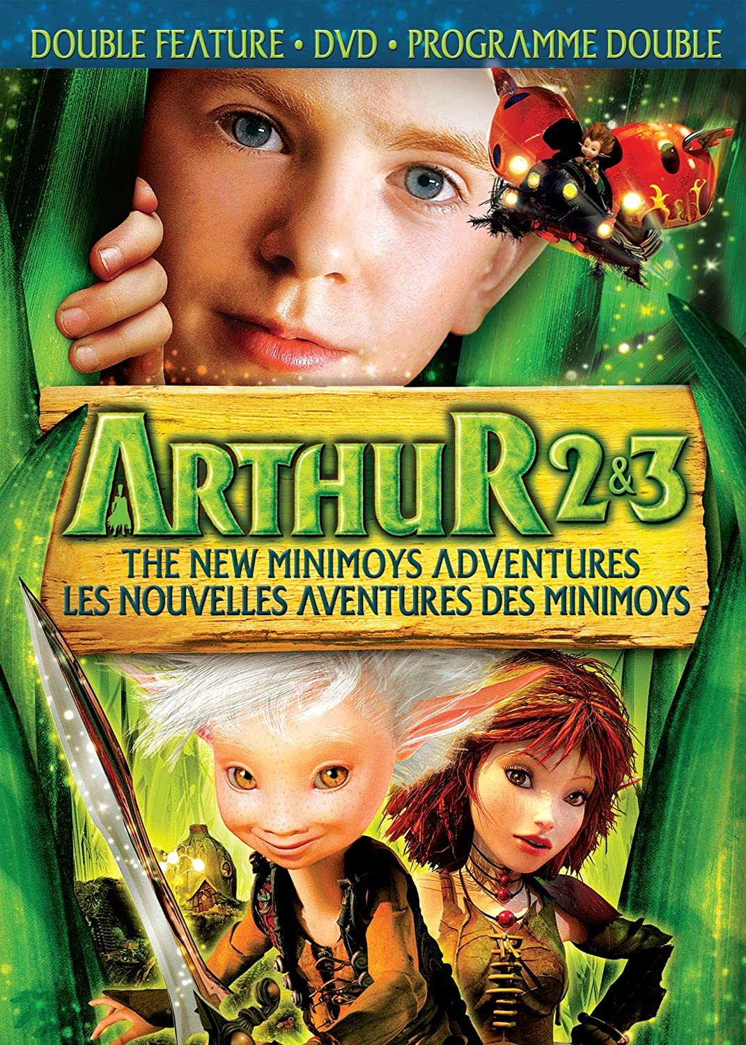 Amazon Com Arthur The New Minimoys Adventures Arthur 2 The Revenge Of Maltazard Arthur 3 The War Of Two Worlds Double Feature Selena Gomez Freddie Highmore Logan Miller Mia Farrow Ron Crawford