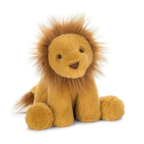 25cafe4205f Amazon.com  Jellycat Smudge Lion Stuffed Animal