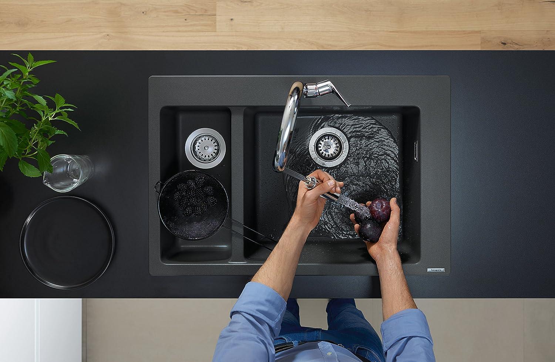 Acero Hansgrohe 72815800 Grifo de cocina 160 mm