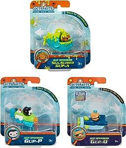 Octonauts Fisher Price Gup Speeders 3 Pack - GUP-A GUP-P & GUP-Q, S2