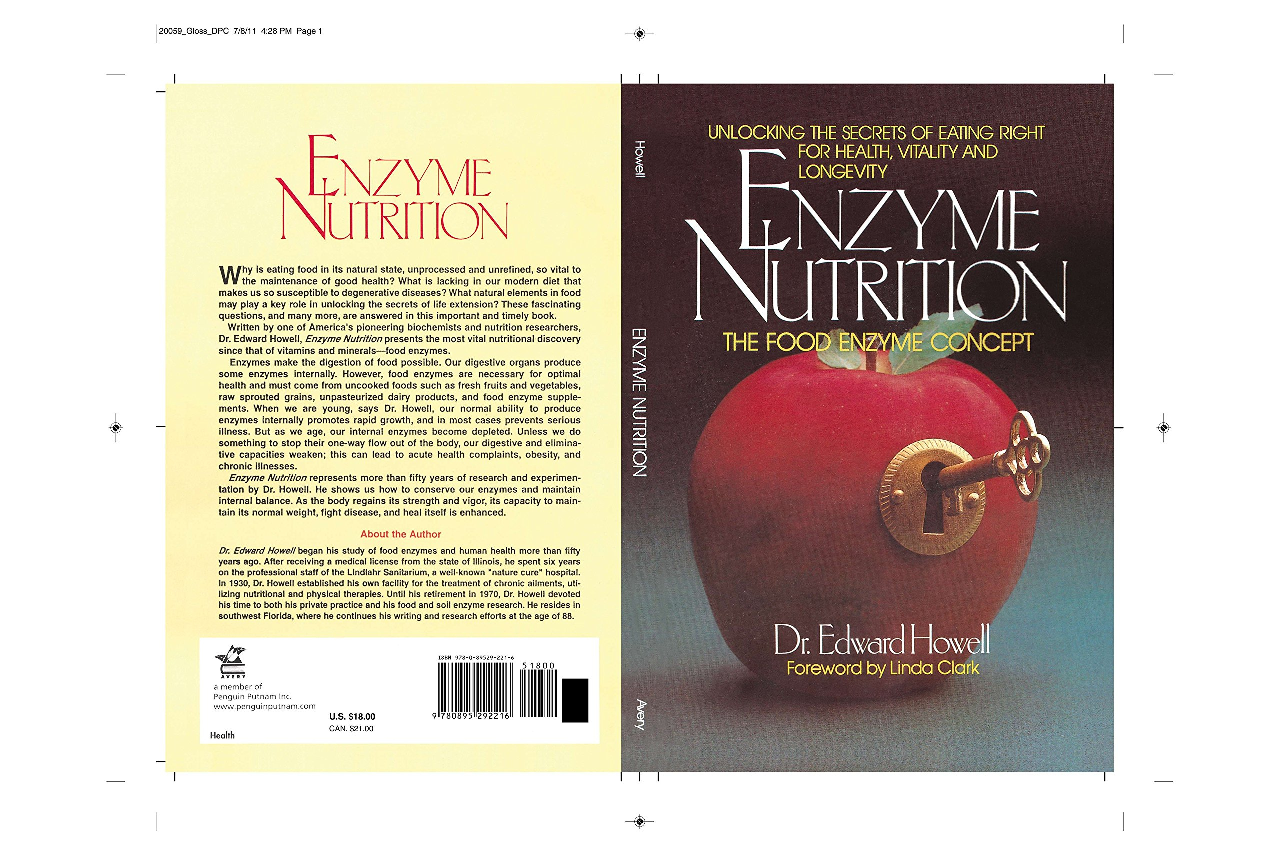 Enzyme Nutrition: Dr. Edward Howell: 8601400440919: Amazon ...