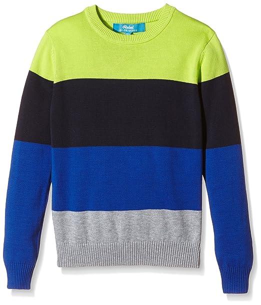 Primark Jersey para Niños, Azul, Gris y Verde, 6-7 Años, 122 cm: Amazon.es: Ropa y accesorios