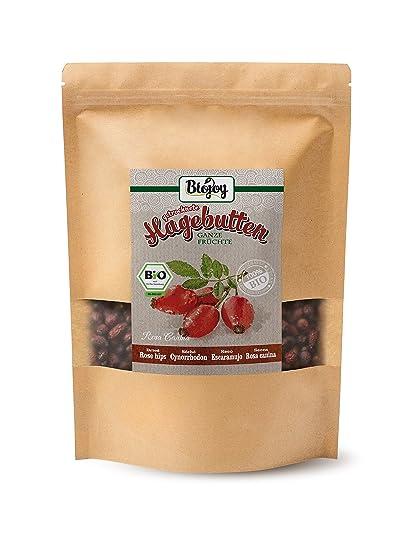 Biojoy Escaramujo seco BÍO | frutos secos de Rosa Canina BIO | calidad premium | frutos