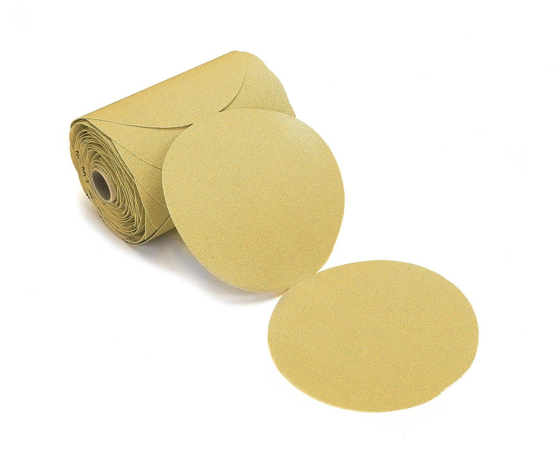 Mirka 23-342-400 Bulldog Gold 6-Inch PSA Linkrol Disc with 400 Grit Mirka Abrasives