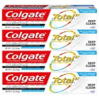 Colgate Total Toothpaste, Deep Clean - 5.1 ounce (4 Pack)