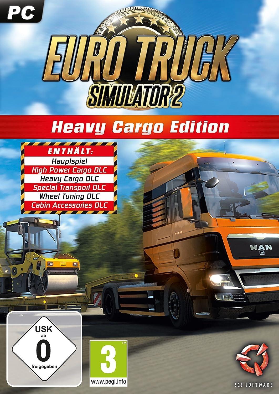 Euro Truck Simulator 2: Heavy Cargo Edition [Importación alemana]: Amazon.es: Videojuegos