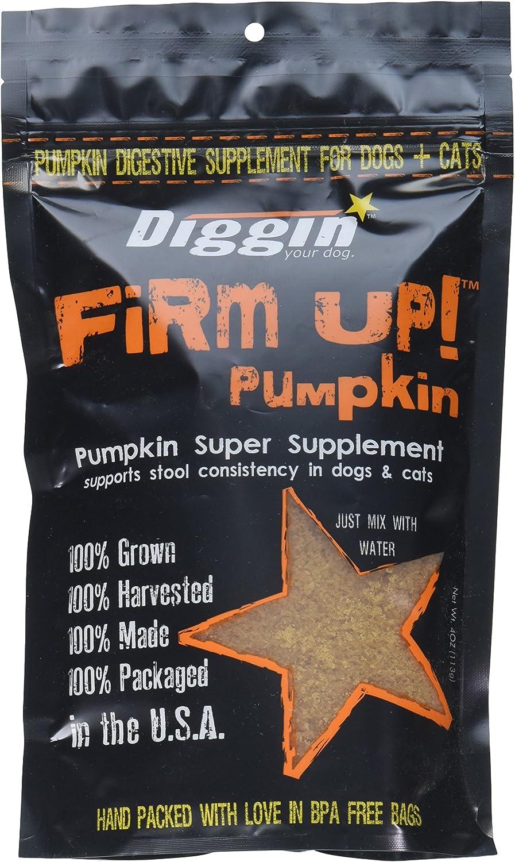 Diggin' Your Dog Firm Up Pumpkin Super Supplement for Digestive ...