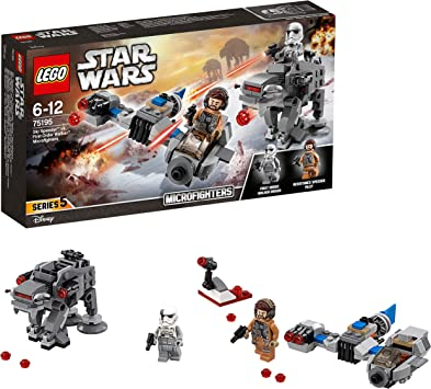 LEGO Star Wars- Ski Speeder vs First Order Walker Microfighters ...