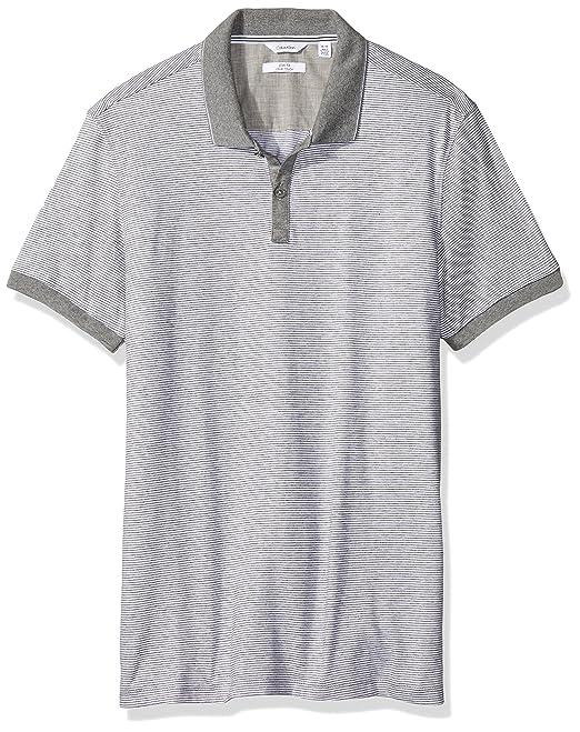 Calvin Klein Polo para Hombre Gris Extra Chico  Amazon.com.mx  Ropa ... 279538557ae52