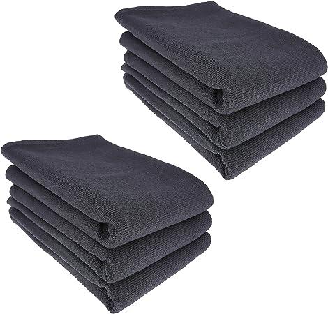 6 x – Trapo/Paño de cocina y gamuza de limpieza 100% algodón ...