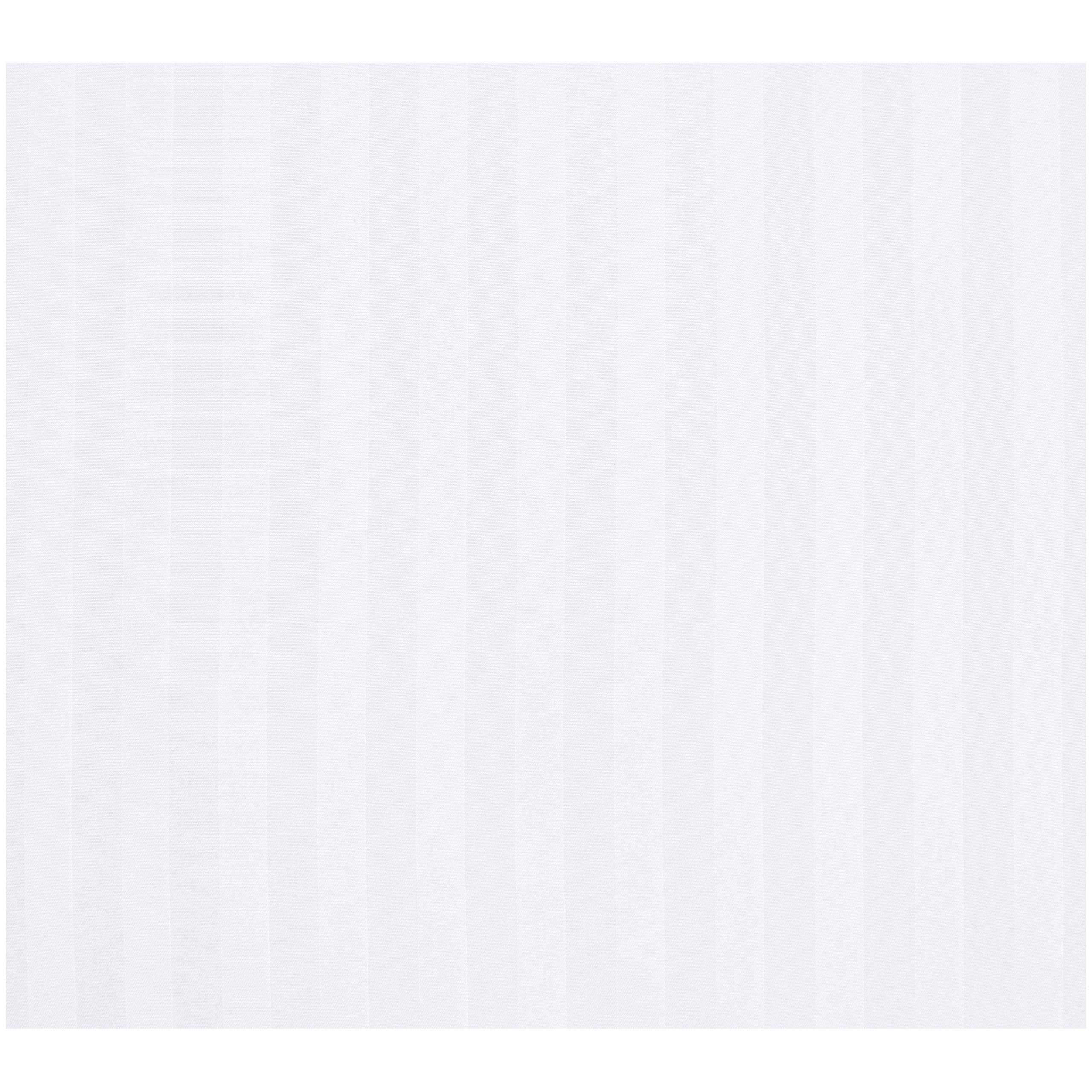 AmazonBasics Deluxe Striped Microfiber Duvet Cover Set - Full or Queen, Bright White by AmazonBasics (Image #2)