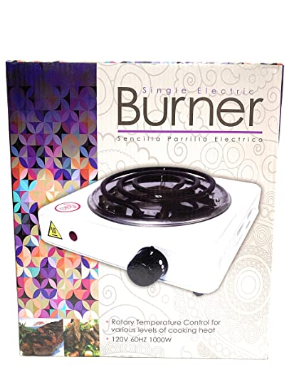 Amazon.com: Single Electric Burner Stove, Great for emergency or ...