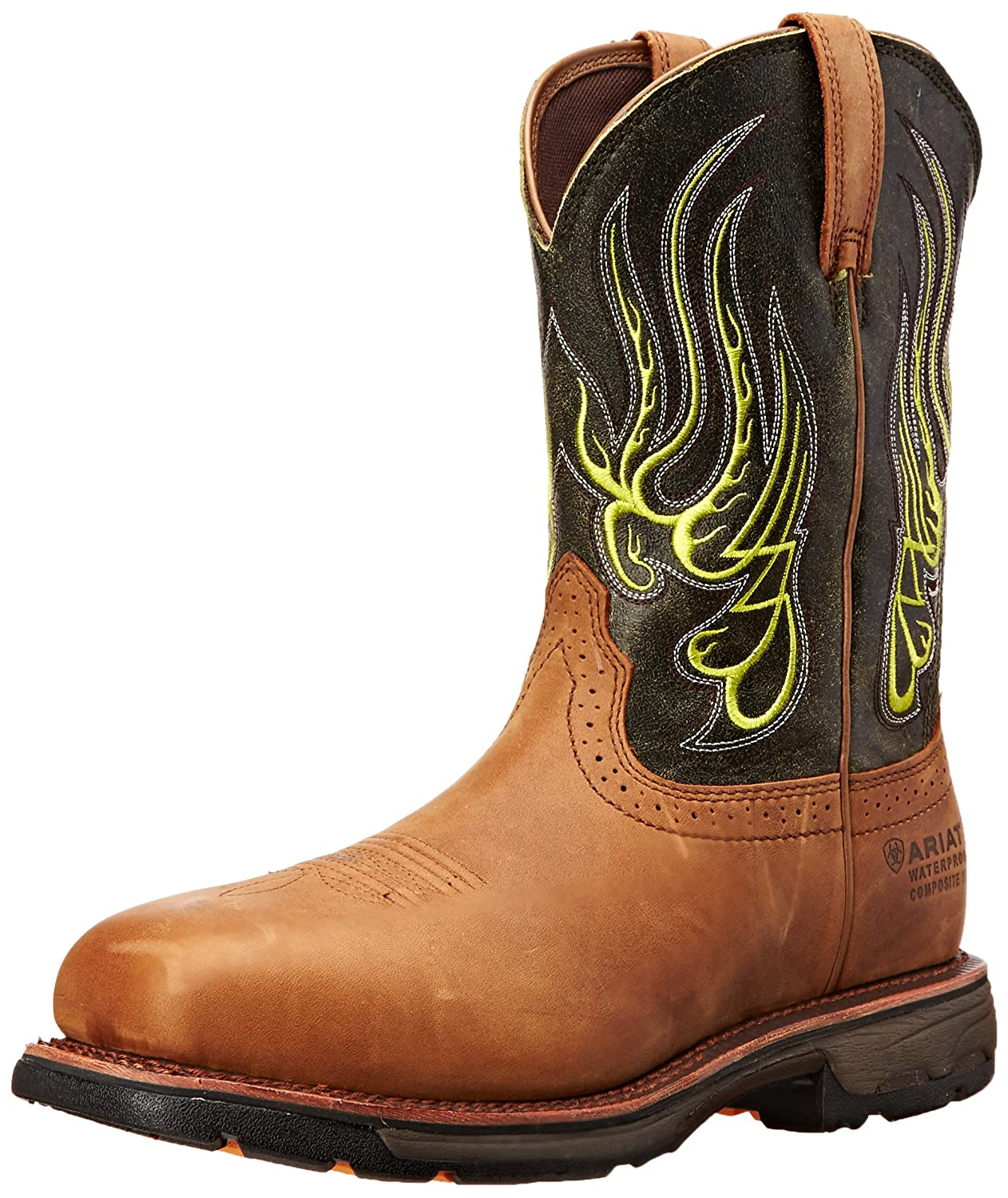 529dc57c202 Ariat Men's Workhog Mesteno Wide Square H2O Composite Toe Work Boot