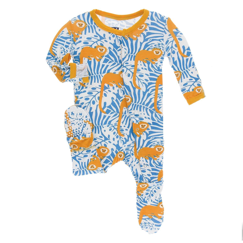 Amazon Kickee Pants Baby Boys Essentials Print Footie Clothing