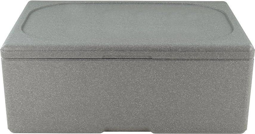 Markenlos Caja térmica aislante Caja nevera portátil poliestireno Caja Caja Caja de transporte para 1/1 GN calentadora de 65 mm hasta 200 mm de profundidad, acero inoxidable, für 1/1 GN 150mm Tiefe: Amazon.es: Hogar