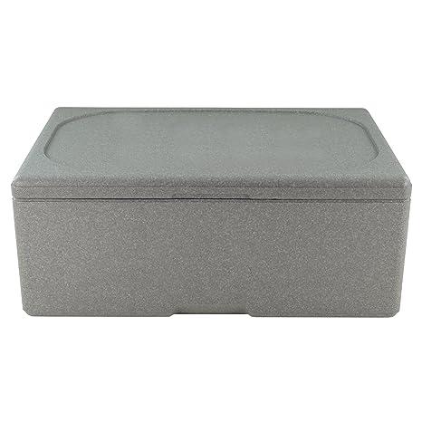 Markenlos Caja térmica aislante Caja nevera portátil poliestireno Caja Caja Caja de transporte para 1/