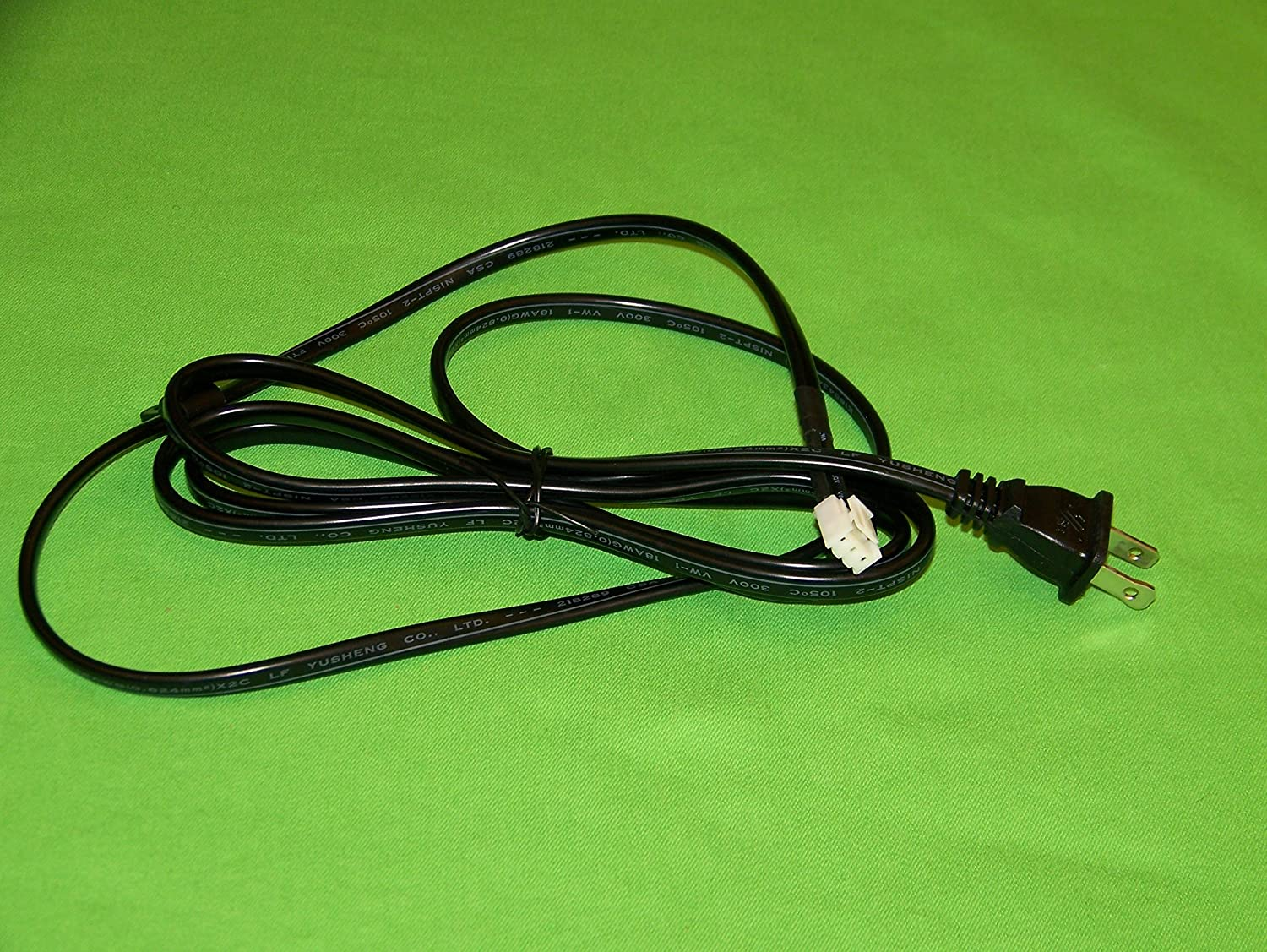 OEM Insignia Power Cord Cable USA Only Originally Shipped With NS46E481A13, NS-46E481A13