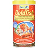 Tetra Goldfish Flake Fish Food, Complete Fish Food for All Goldfish, 1 Litre