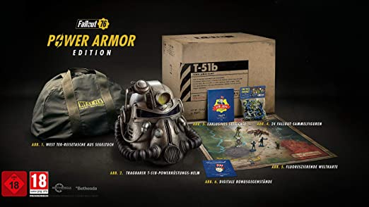 Fallout 76 Karte Deutsch.Fallout 76 Collectors Edition Xbox One Amazon De Games