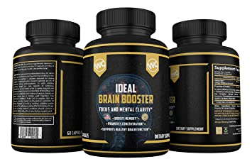 #1 BEST SELLING Brain Boost Nootropic for A Healthier Brain | Better  Memory, Focus, Clarity,
