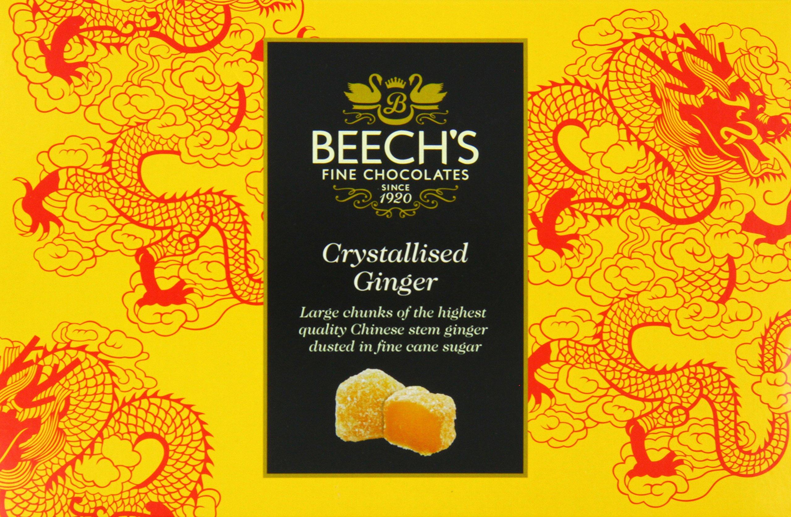 Beech's Crystalised Stem Ginger Gift Box, 150 g