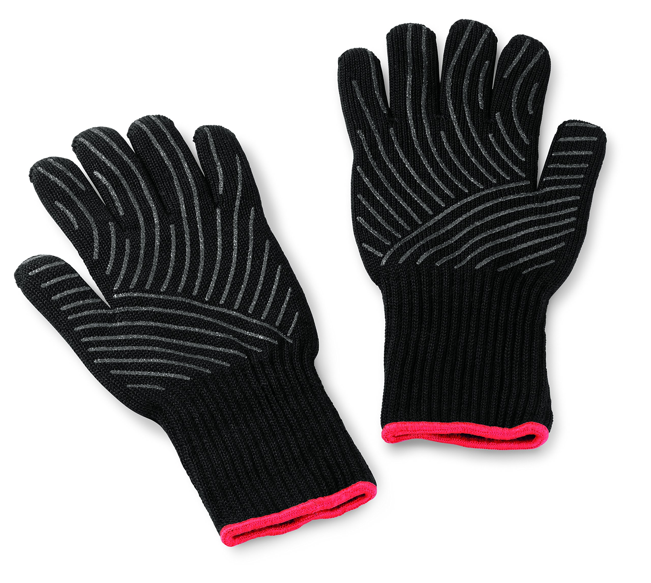 Weber 6535 Premium Black Grilling Gloves, L/XL by Weber