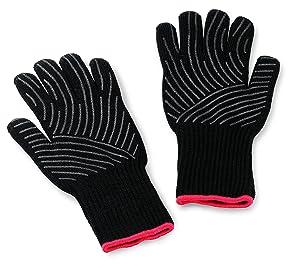 Weber 6535 Premium Gloves, L/XL, x Large, Large/X-Large Black