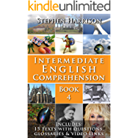 Intermediate English Comprehension - Book 4 (with AUDIO)